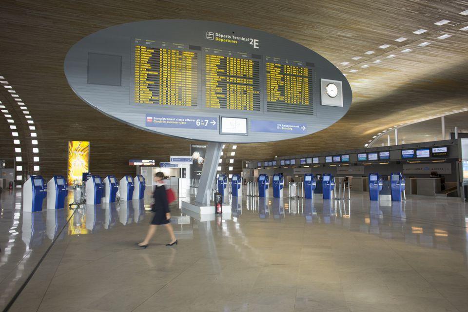 An Air France Terminal at Roissy-Charles de Gaulle Airport in Paris