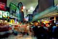 Busy Bukit Bintang in Kuala Lumpur, Malaysia
