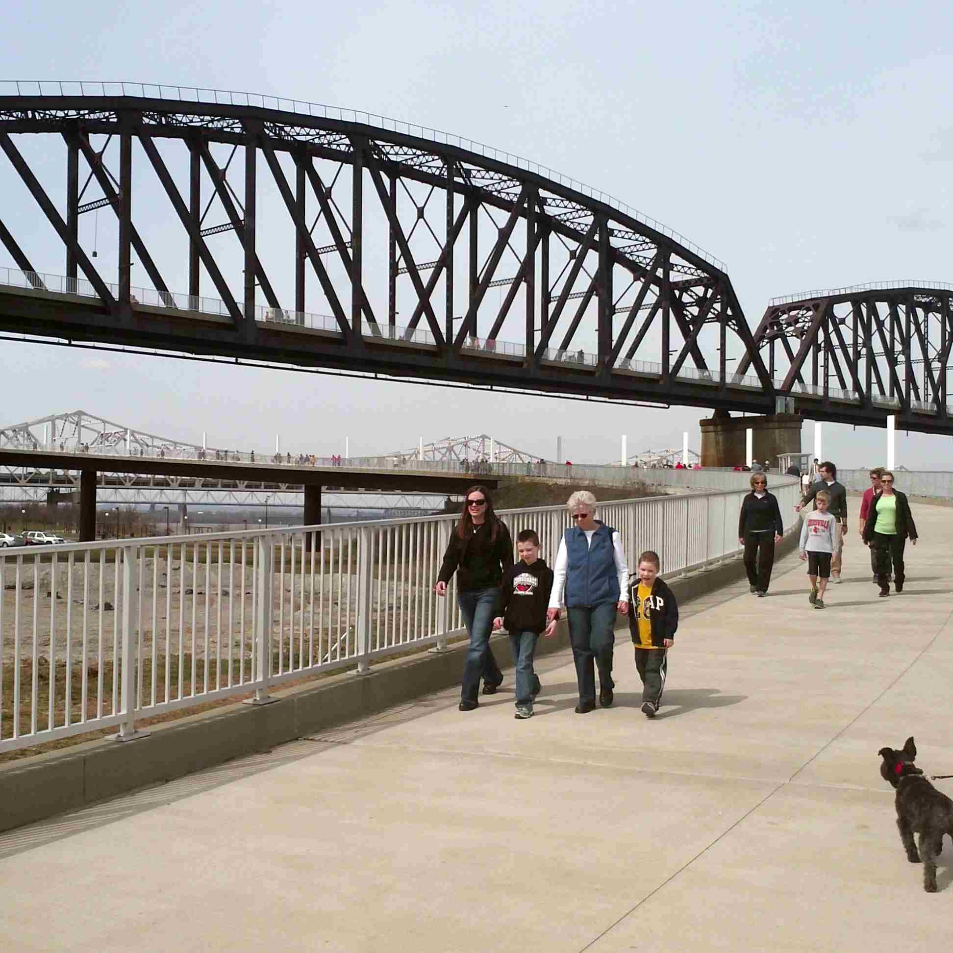 Big Four Bridge en Louisville