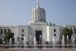 The Art Deco Style Oregon State Capitol