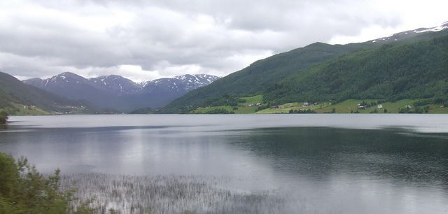 Peaceful Lake in Norway - Flam Shore Excursion