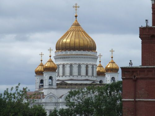 Cathedral of Christ the Redeemer (Cathedral of Christ the Savior) in Moscow