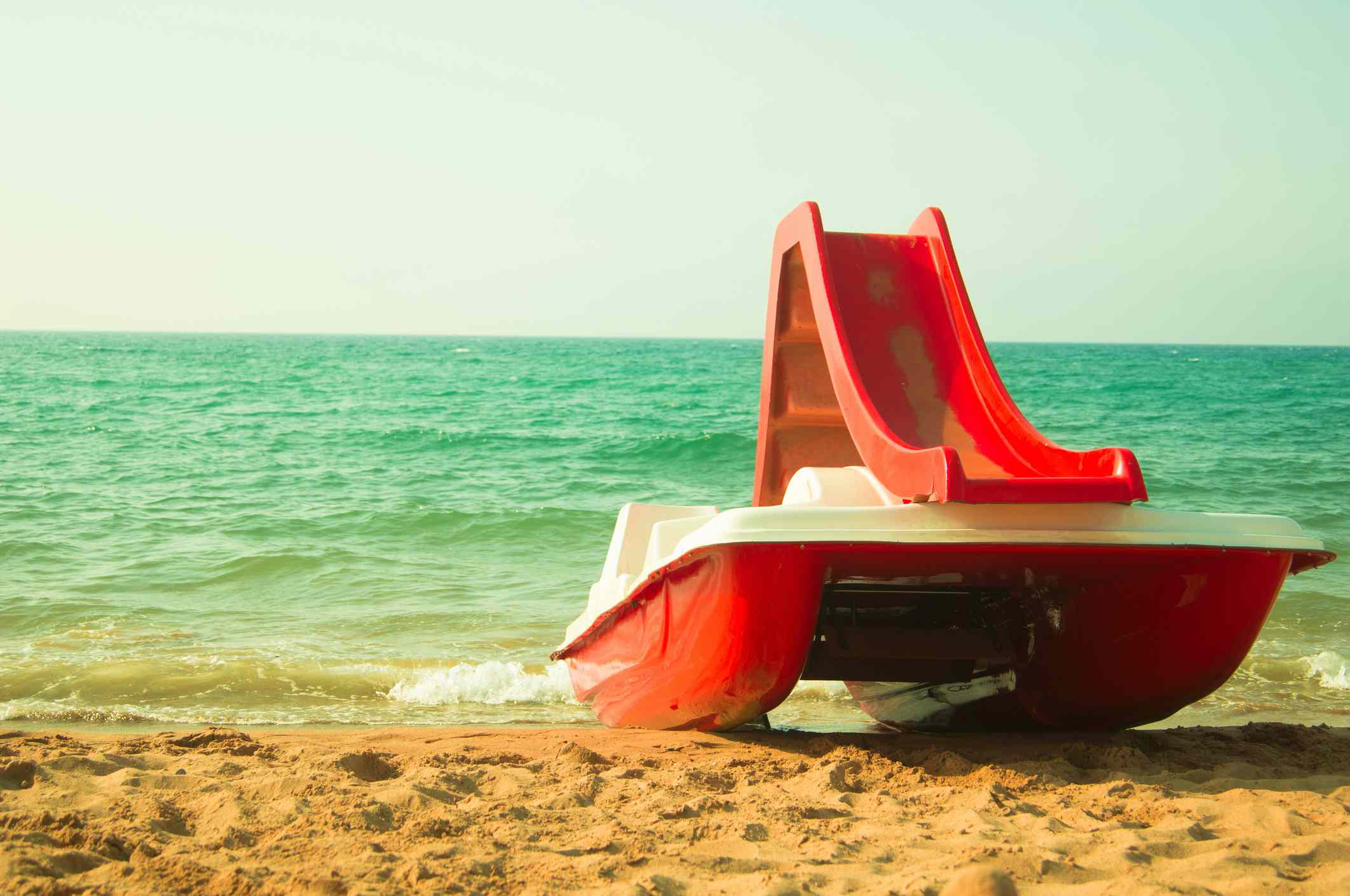 Pedal Boat on the Beach