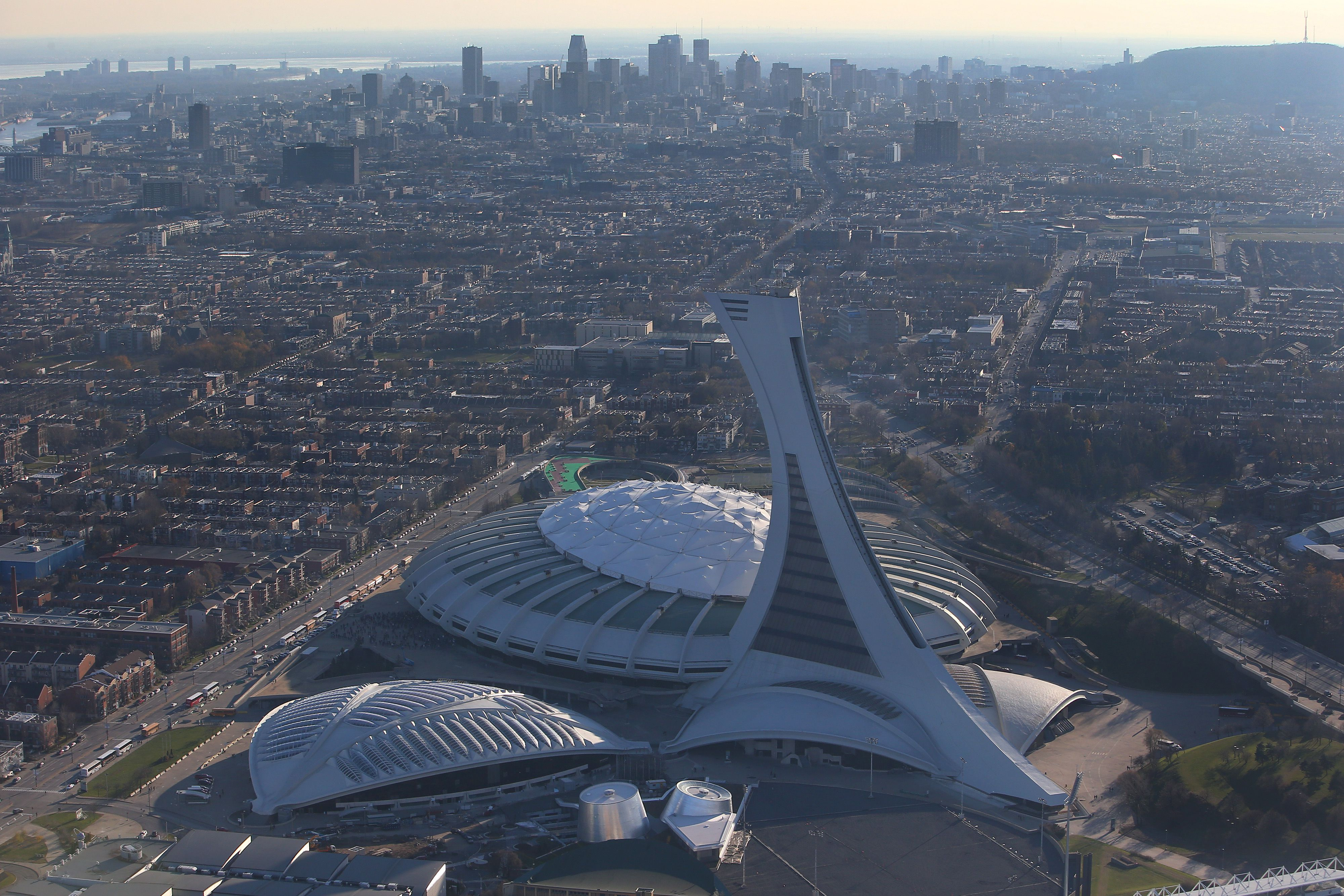 Olympic Stadium, Biodome, Saputo Stadium, and Olympic Park Montreal