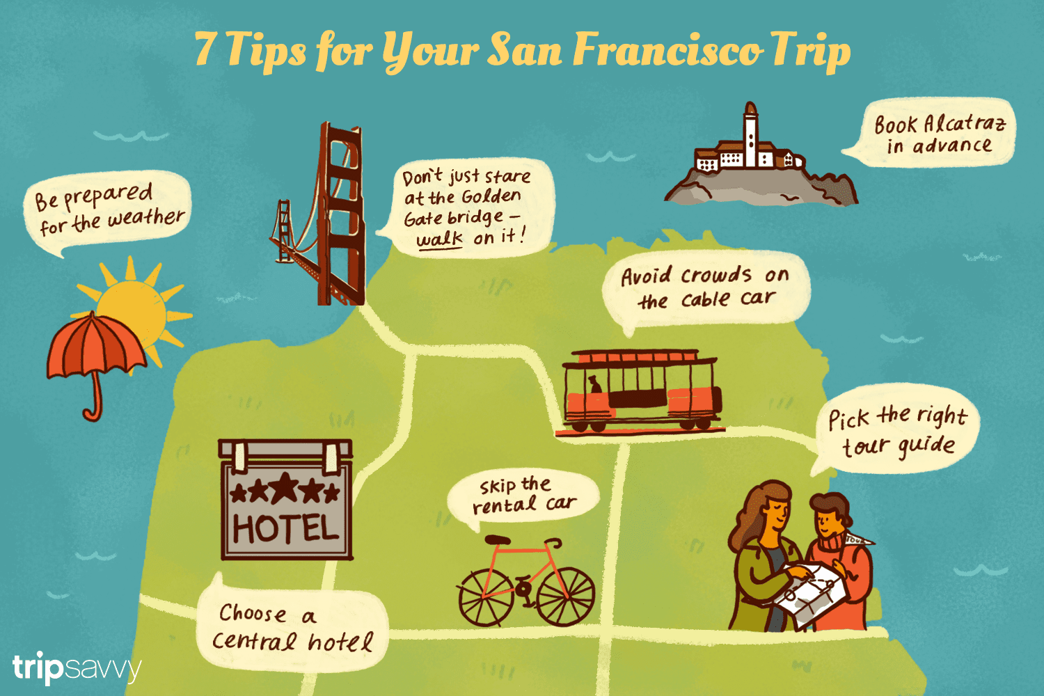 7 Tips for Your San Francisco Trip