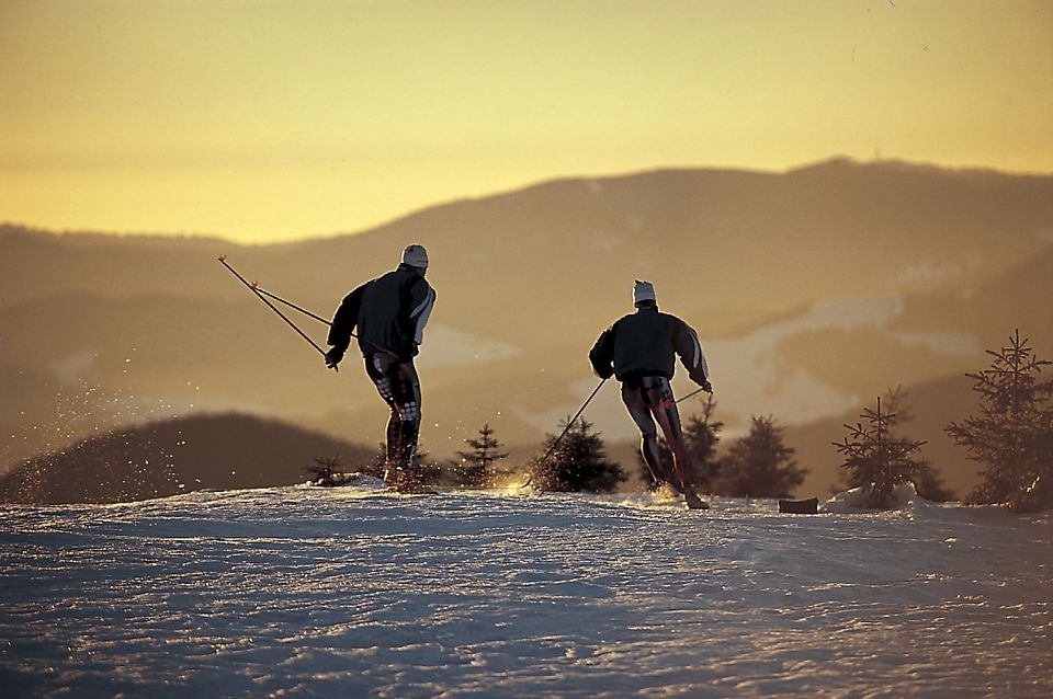 Skiing in the Black Forest
