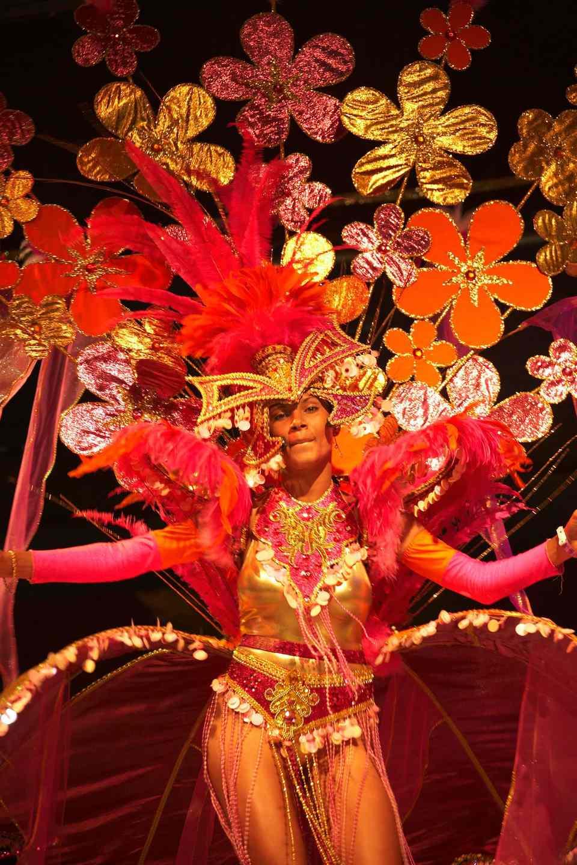 Anguilla Carnival masquerade costume