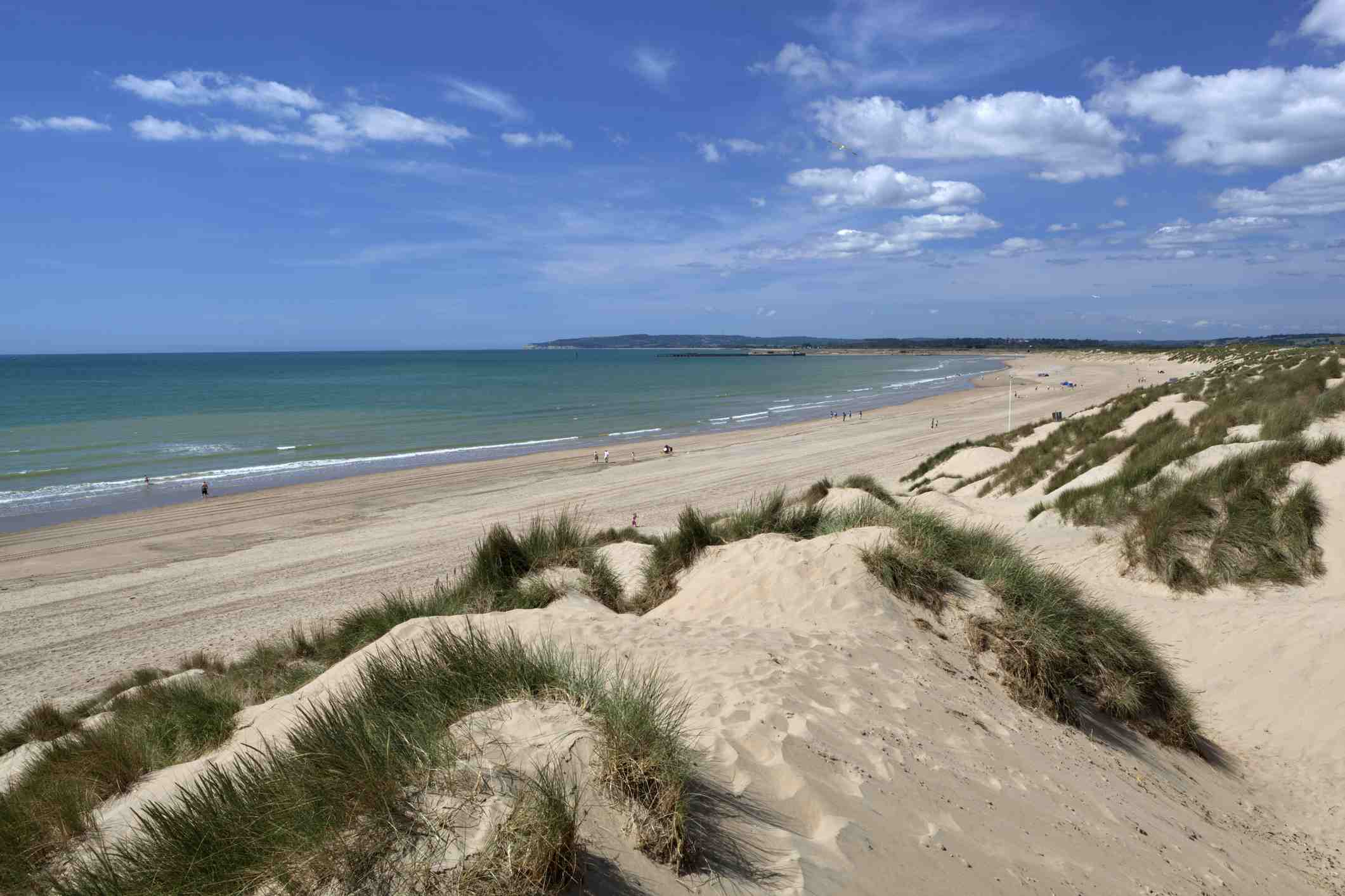 Dunes at Camber Sands.