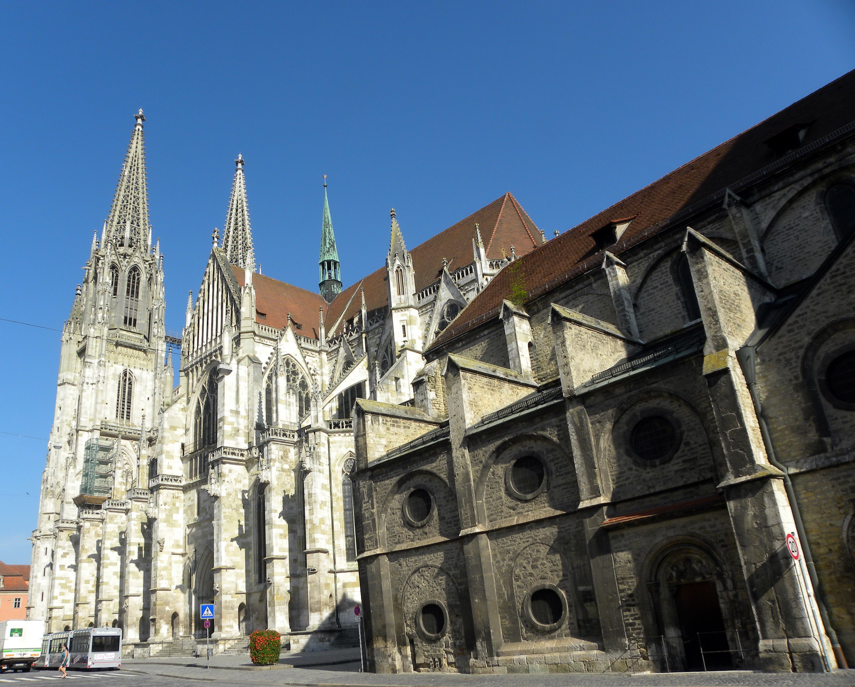 Dom St Peter in Regensburg, Germany