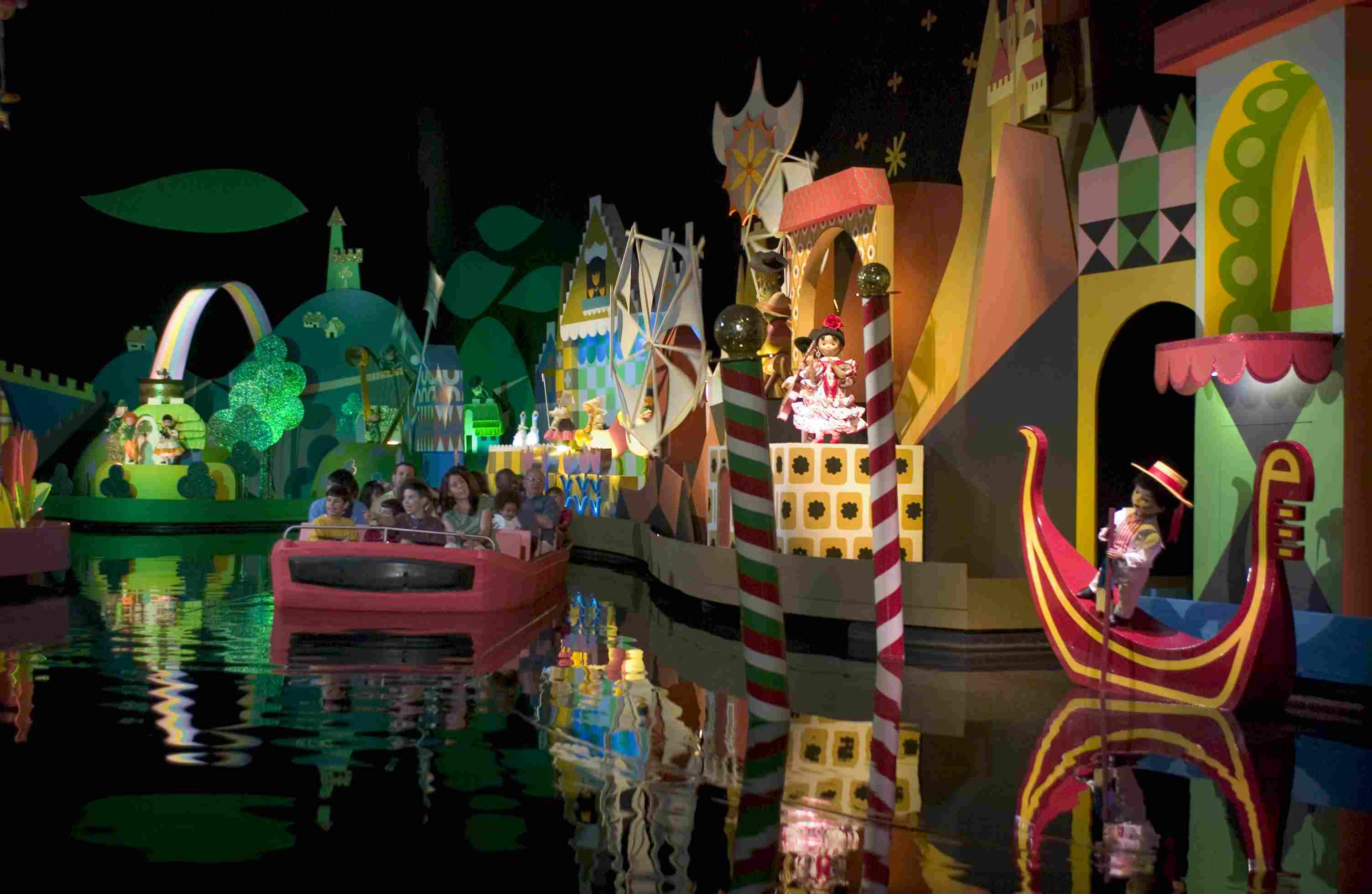 The It's a Small World Ride at Disney World