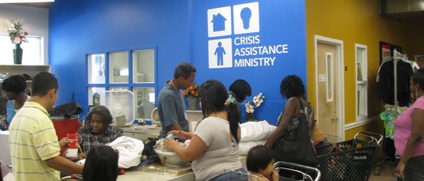 Crisis Assistance is just one community resource organiation in Charlotte