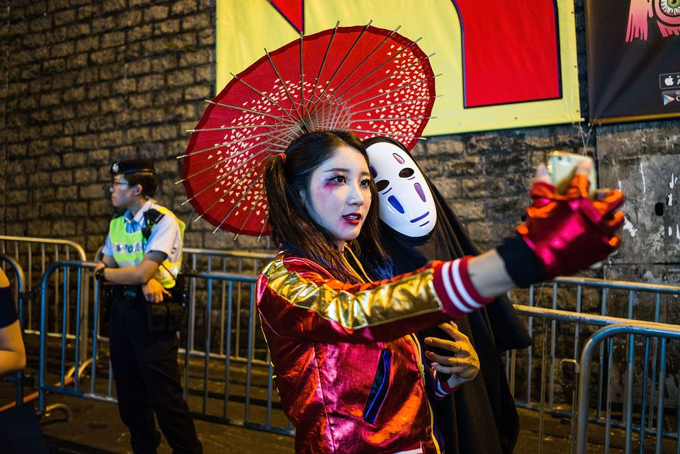 Hong Kong Celebrates Halloween Festival