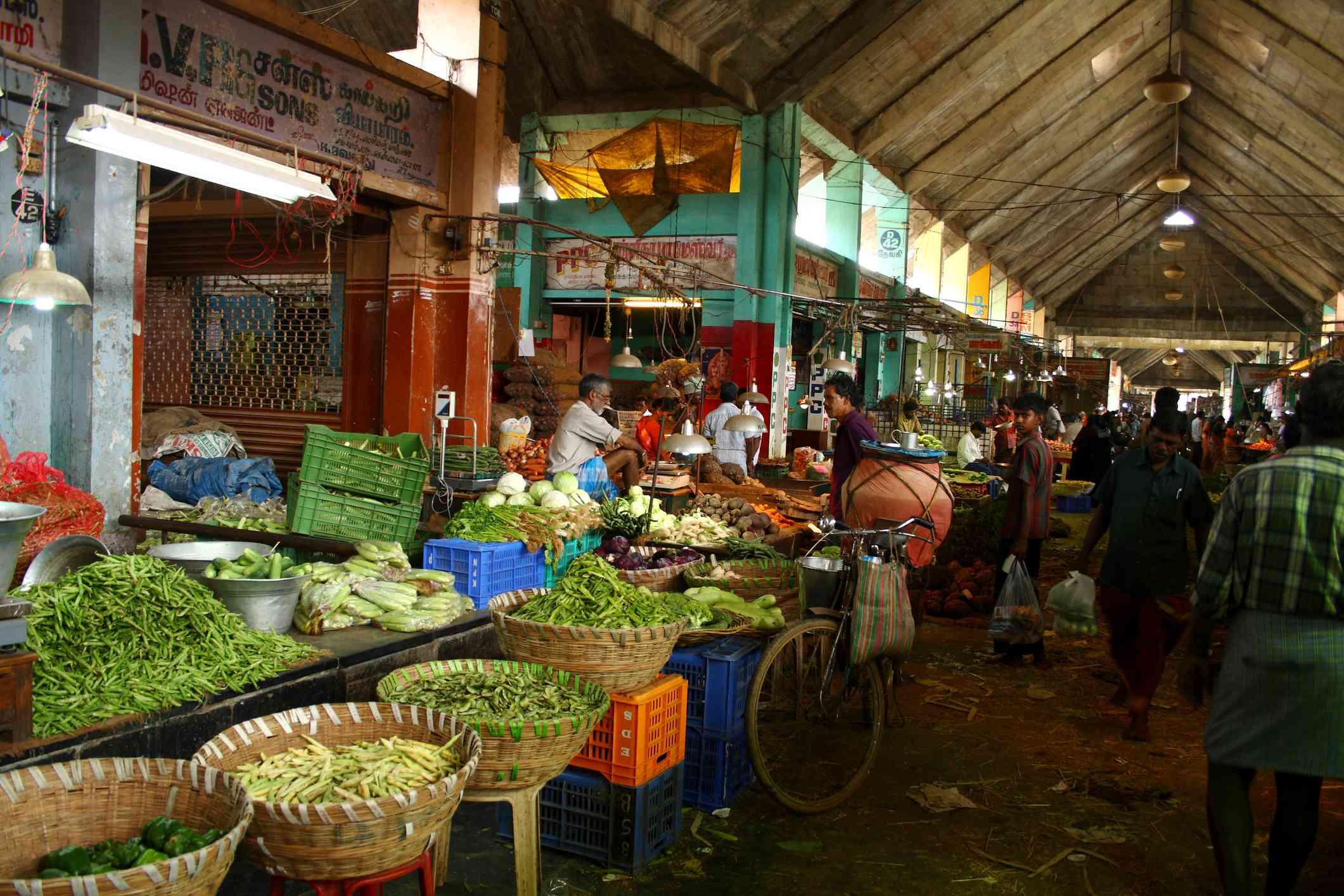 Koyambedu market, Chennai