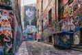 Graffiti alleyways