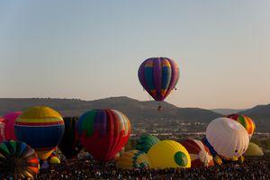 Balloon Festival in Leon Guanajuato