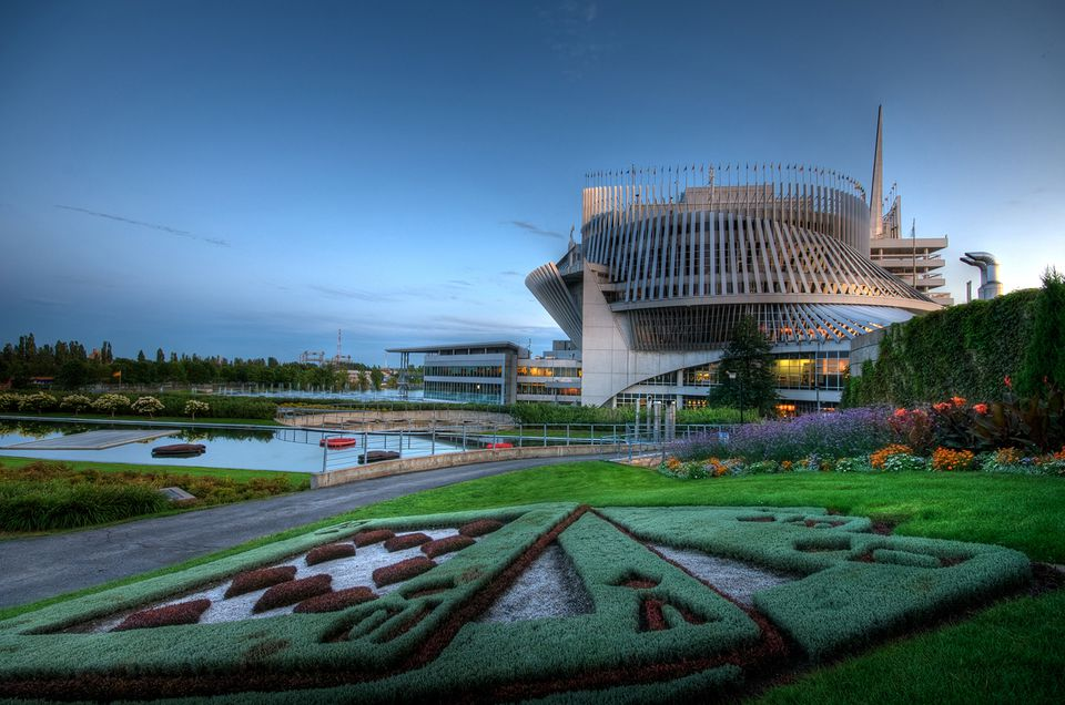 The Montreal Casino is one of North America's more eccentric gmabling destinations.
