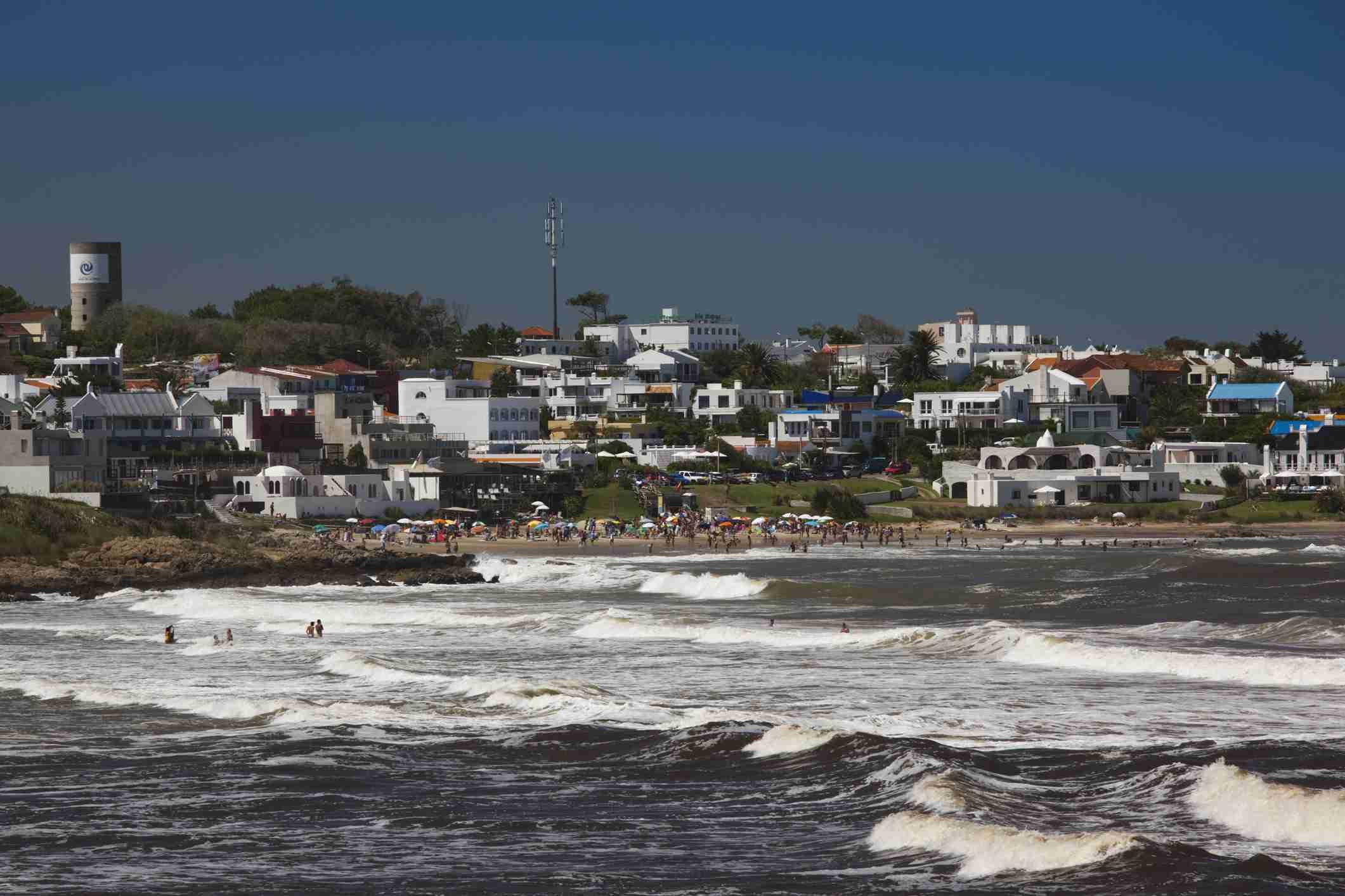 Playa La Boca beach, La Barra, Punta del Este, Uruguay, February 2009