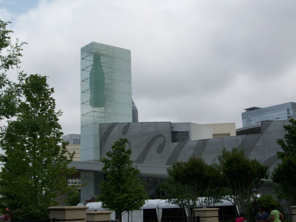 The World of Coca-Cola is a museum in Atlanta dedicated to Coke, one of America's favorite soft drinks.