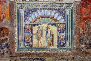 Mosaic from Herculaneum