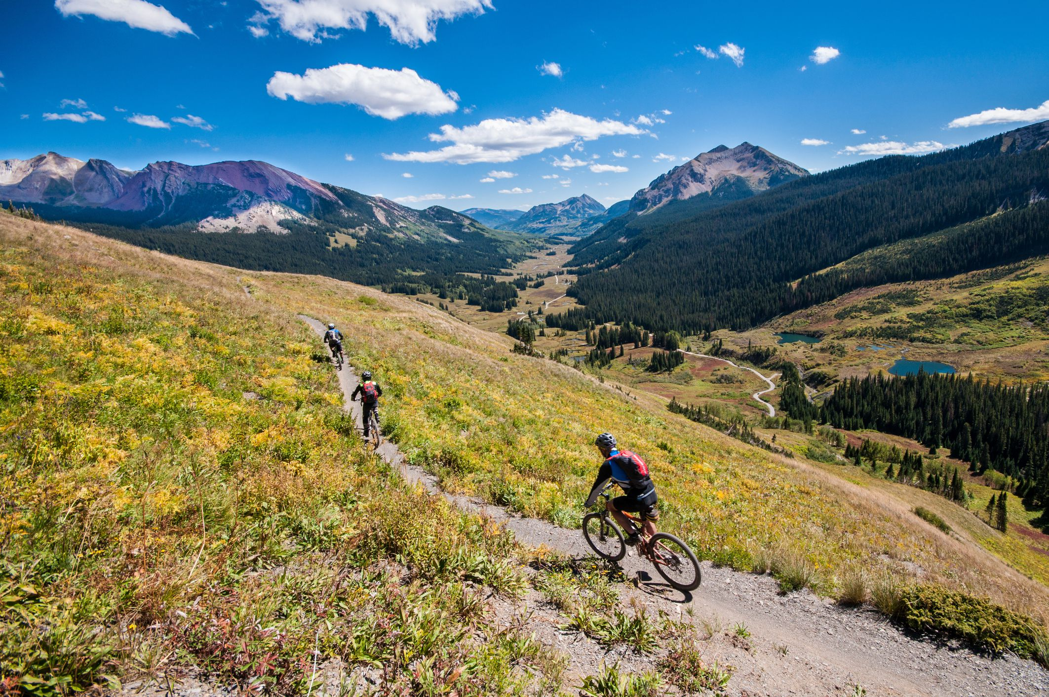 Mountain biking in Crested Butte