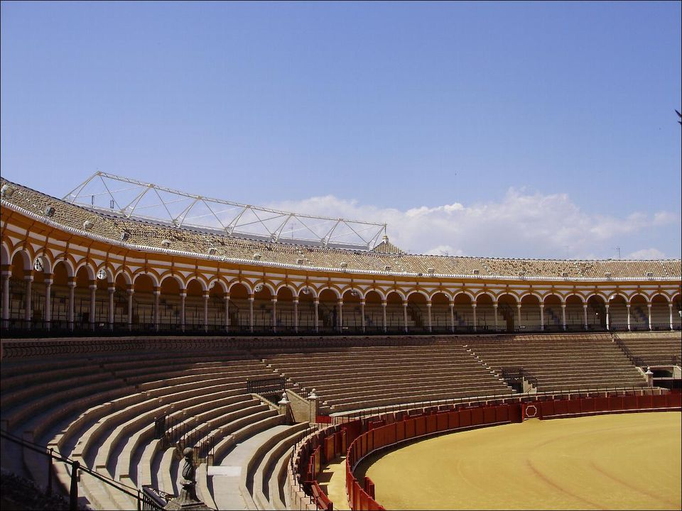 plaza de toros de sevilla in spanish dont confuse your