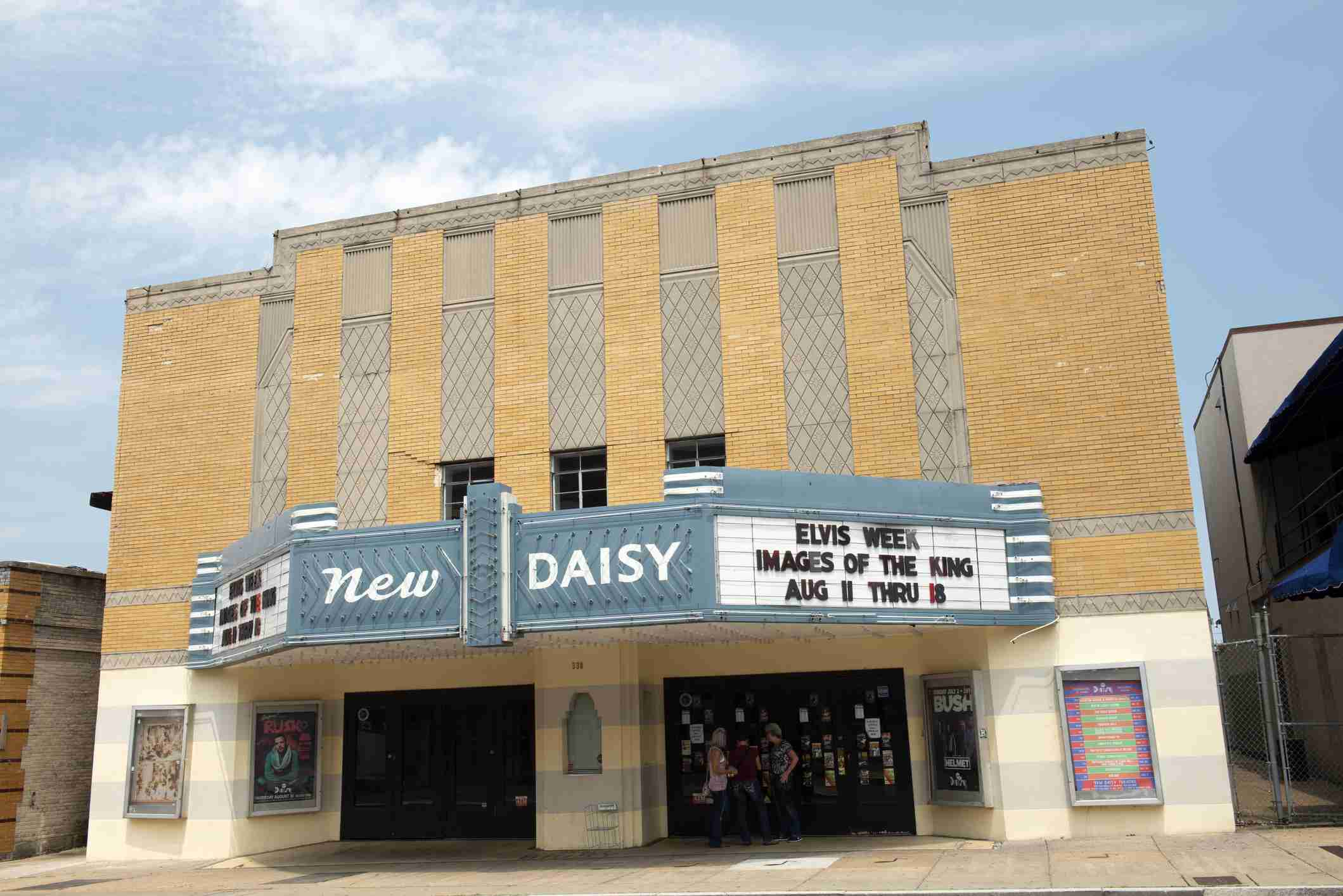 New Daisy Theater on Beale Street in downtown Memphis