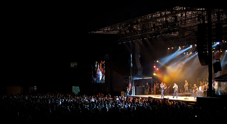 Concert at the Puyallup Fairgrounds during the Washington State Fair
