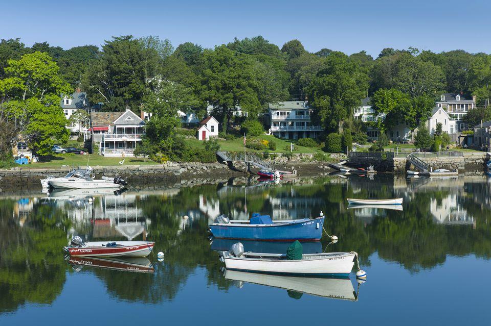 USA, Massachusetts, Gloucester, Annisquam, Lobster Cove