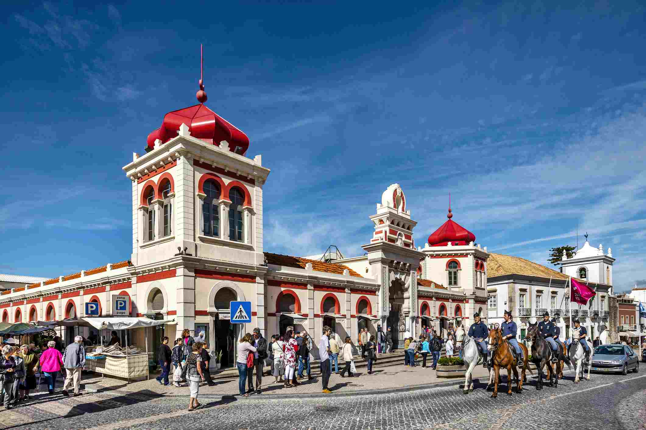 Market hall, Loule, Algarve, Portugal