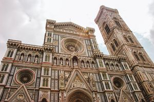 The exterior of the Duomo