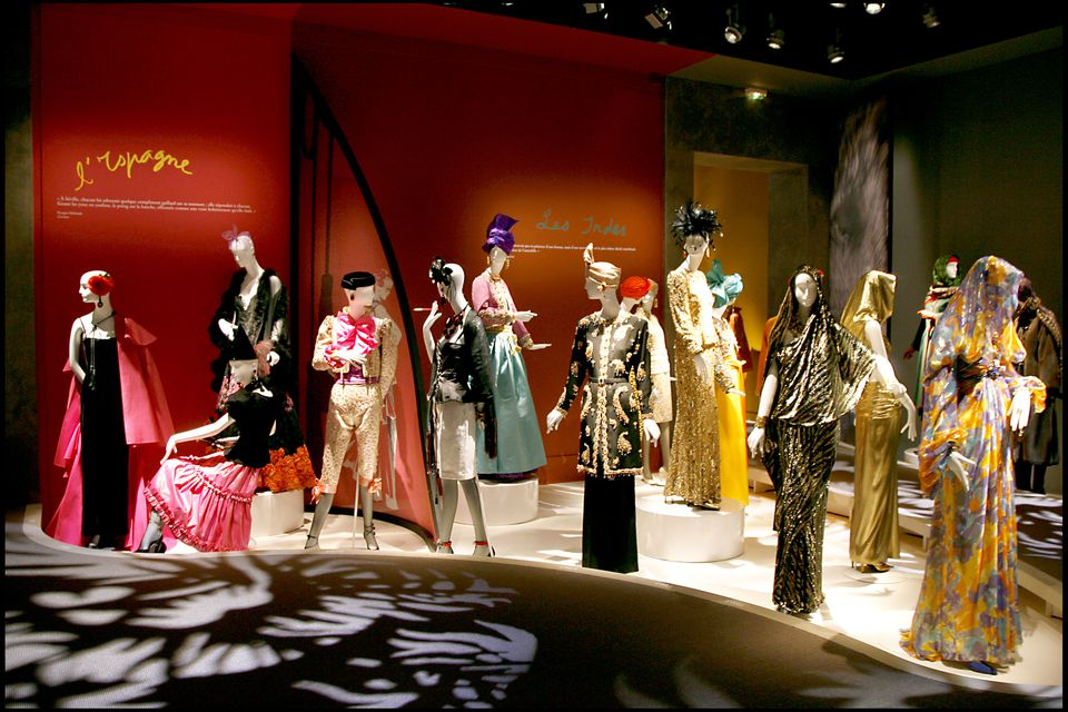 292f0c827d4 The inaugural exhibition at the Yves Saint Laurent Museum in Paris focused  on the French fashion