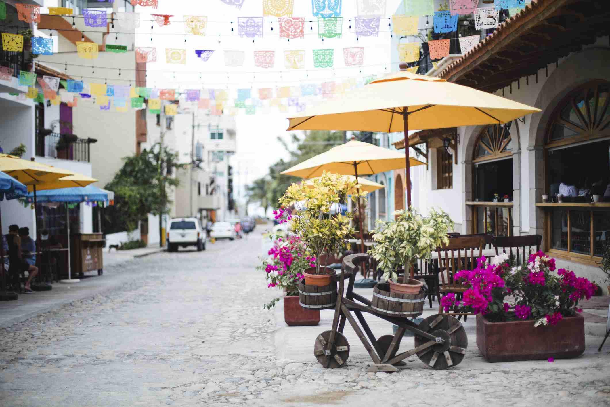 Restaurant in Bucerias, Nayarit, Mexico