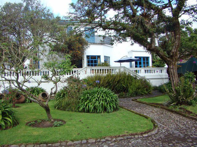 Haciendas are popular overnight choices in Ecuador.