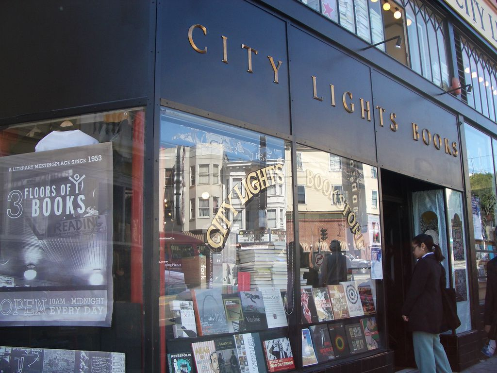 City Lights Bookstore in San Francisco, California