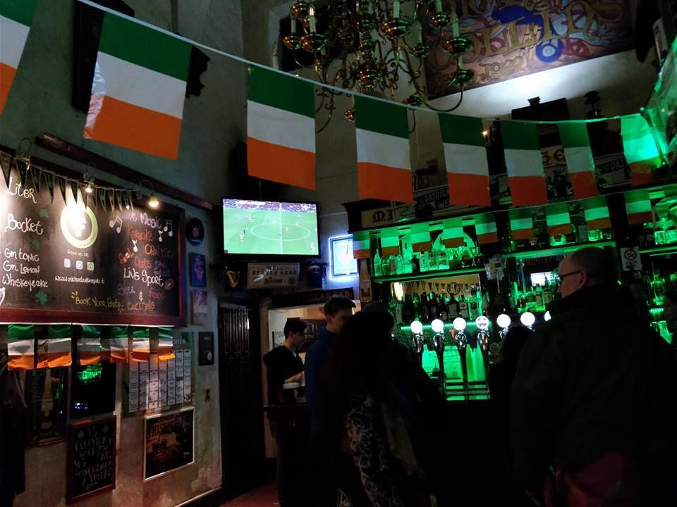 St. Patrick's Day at Michael Collins Irish Pub, Florence