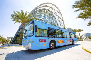 ART Bus at the Anaheim ARTIC Transit Center