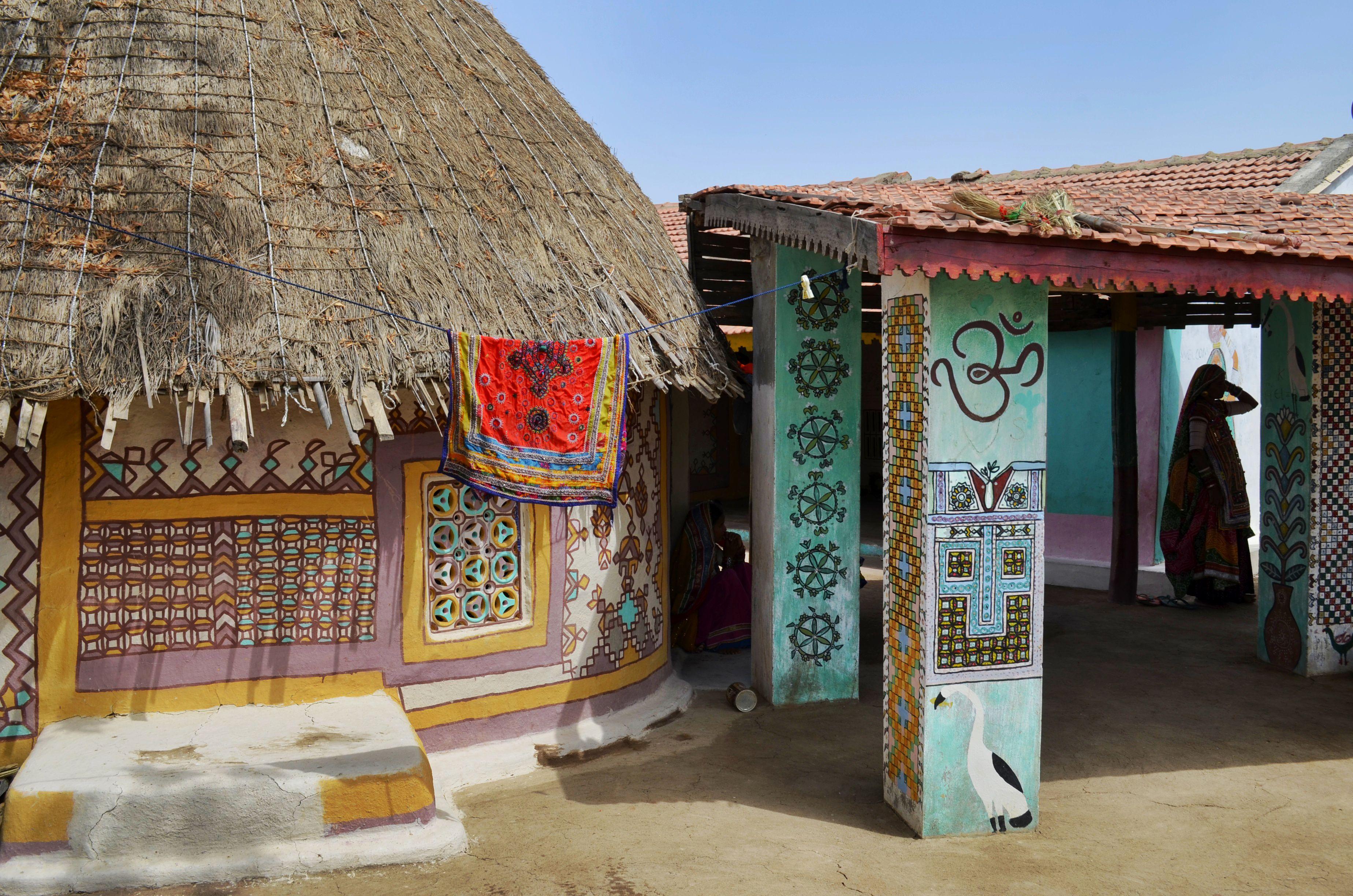 Traditional Kutch house.