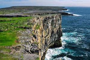 The cliffs of the Aran Islands