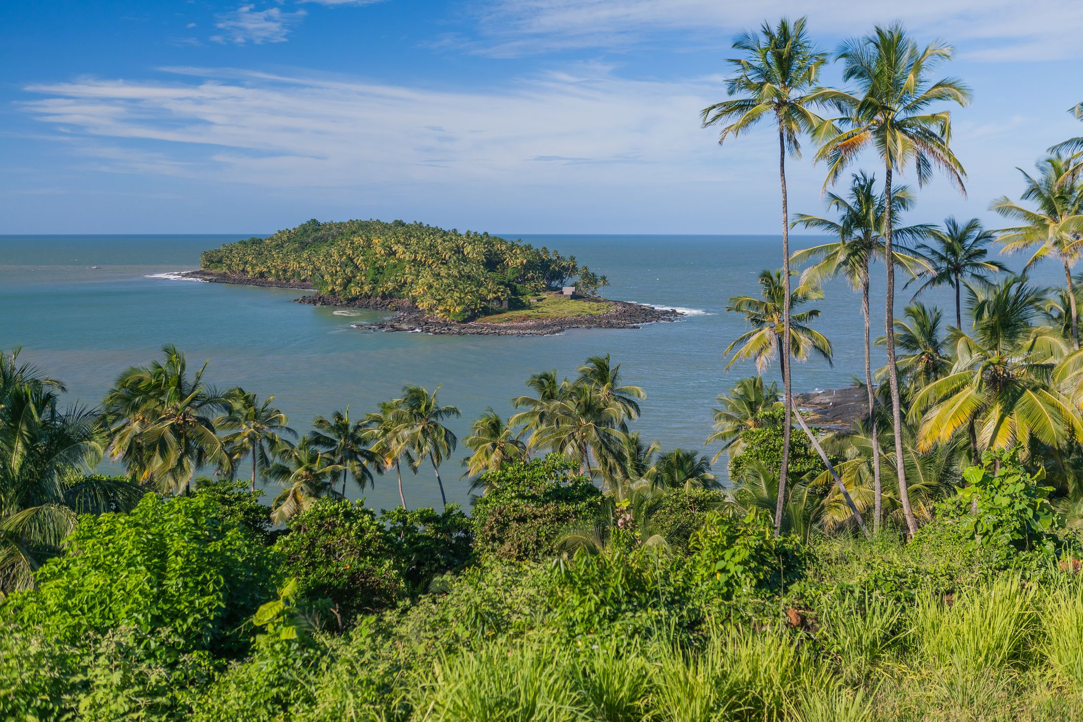 Salvation Islands - Devil Island, Off the coast of French Guiana