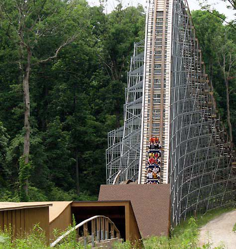 Holiday World is a celebrated theme park in Indiana known for its great wooden coasters.