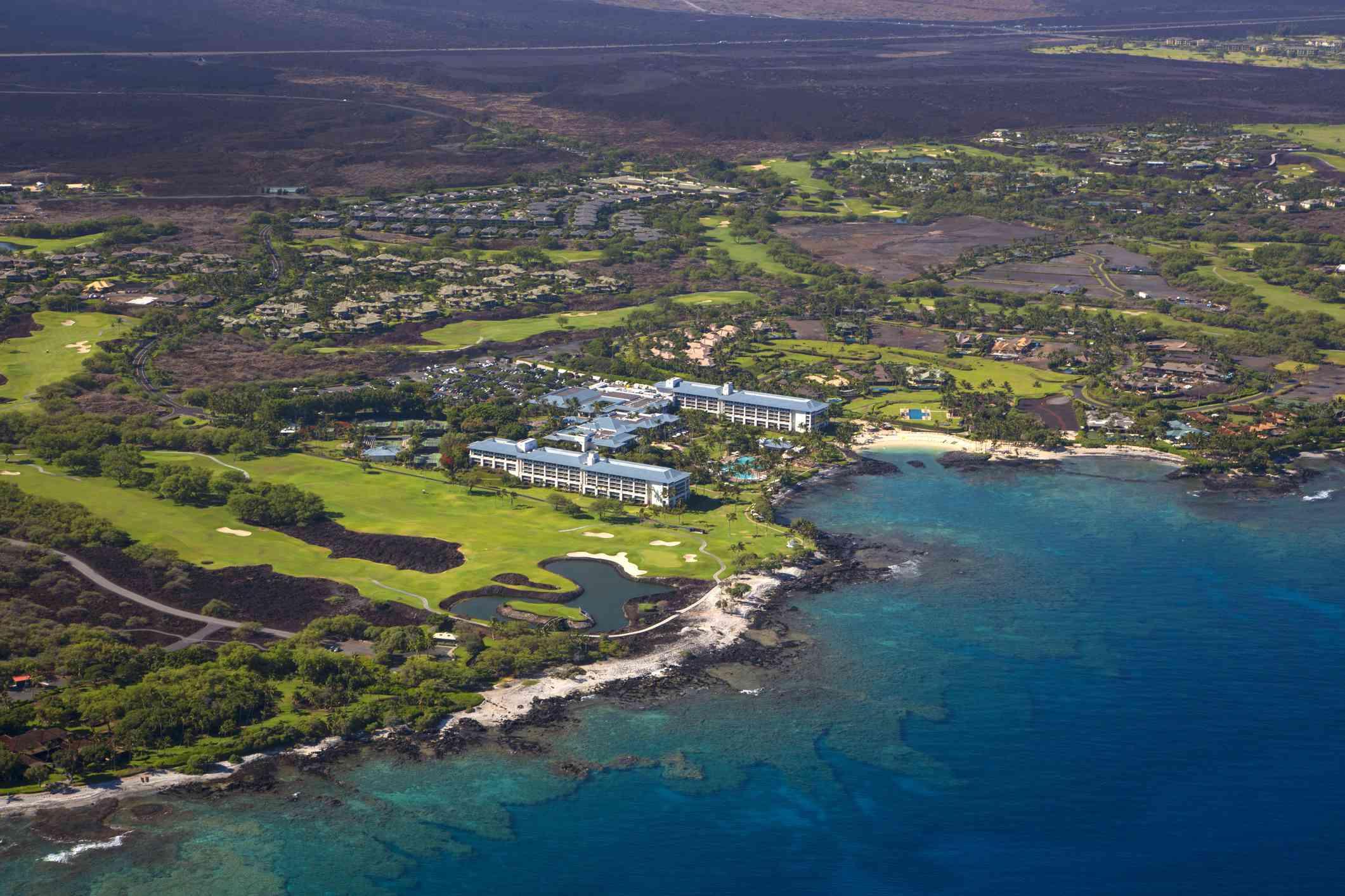 Mauna Lani Resort in North Kohala