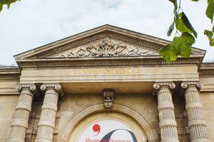 Sign for Orangerie Museum