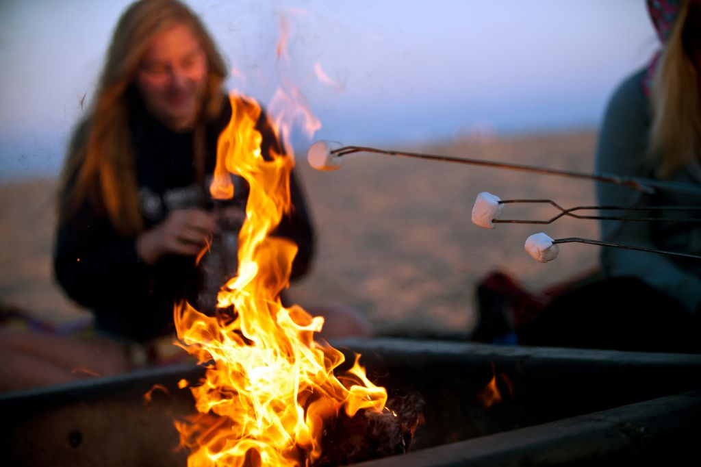 Mission Beach Bonfire