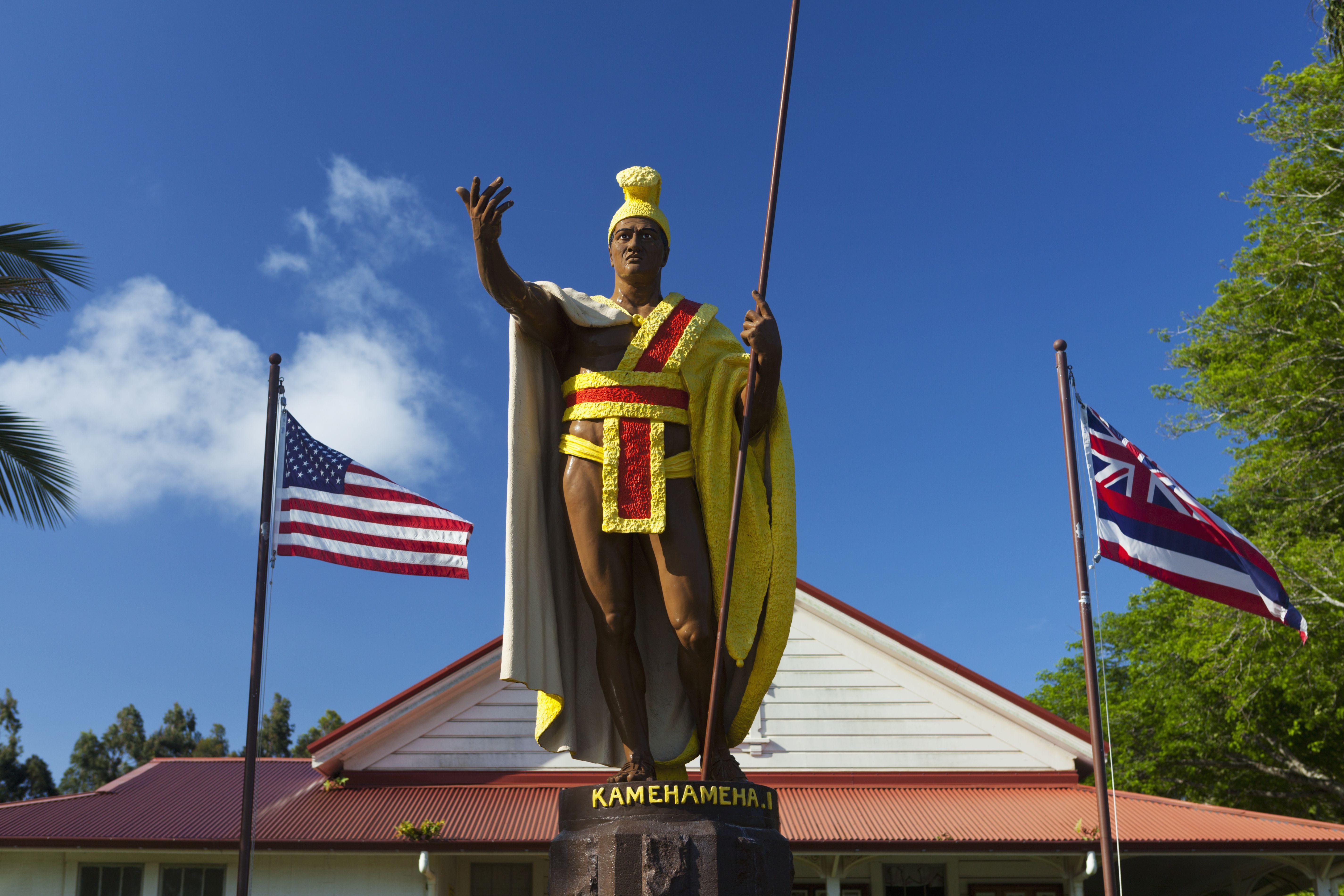 Original King Kamehameha I Statue