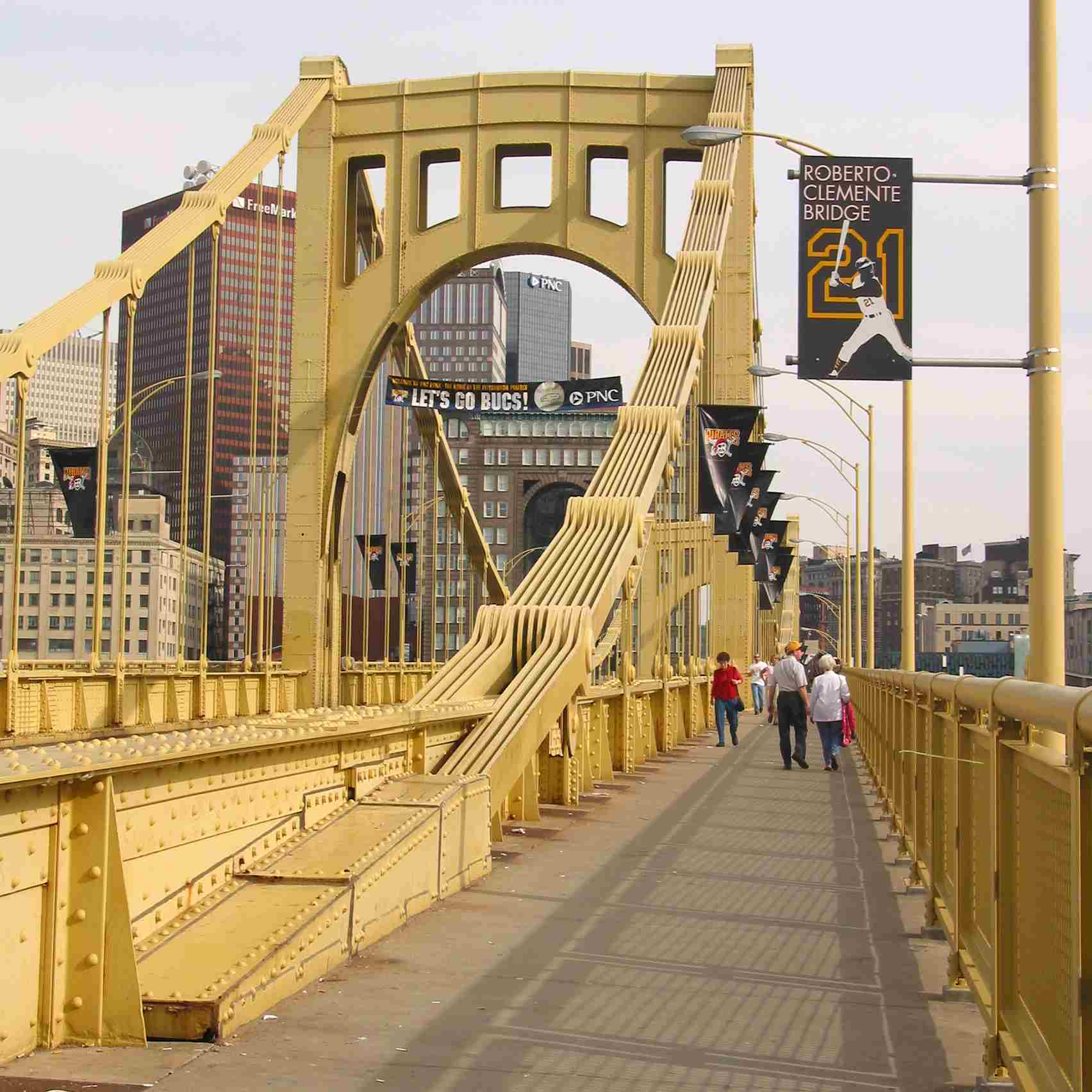 The Roberto Clemente Bridge