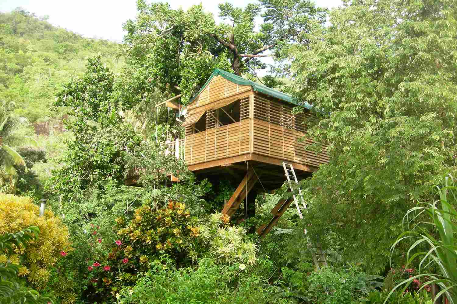 list of caribbean treehouse resorts