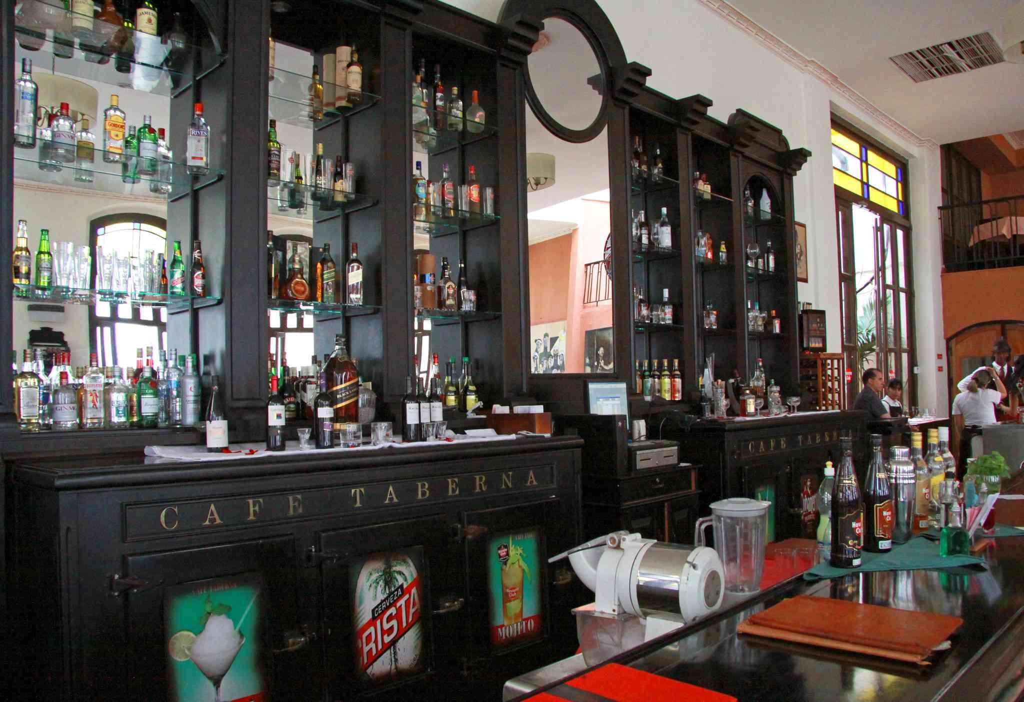 La Habana. Au Café Taberna