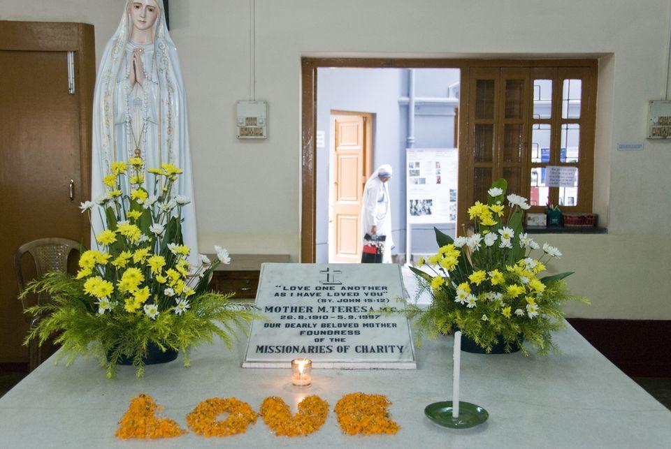 Mother Teresa tomb, Kolkata