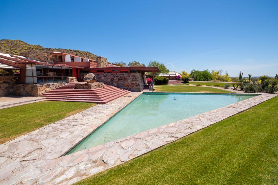 Frank Lloyd Wright y Taliesin West en Scottsdale, AZ