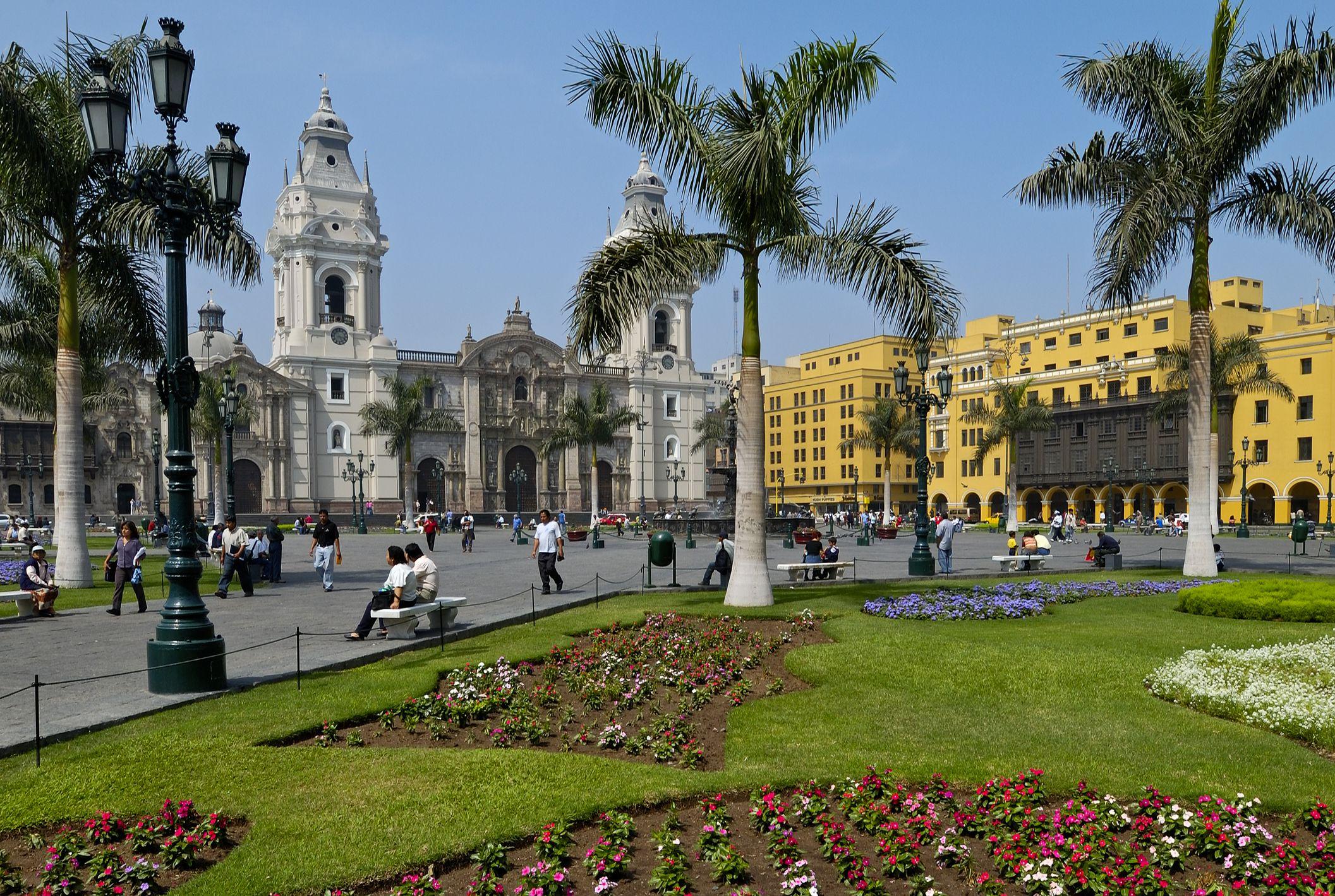 Plaza Mayor de Lima, Perú
